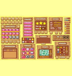 Game gui 35 vector