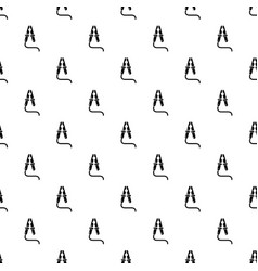 Jumper cable pattern seamless vector