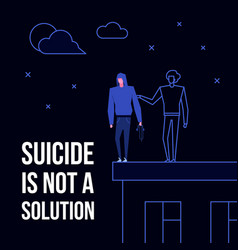 Mental disorder suicide vector
