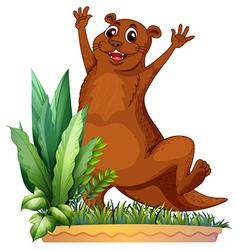 A brown animal vector image vector image