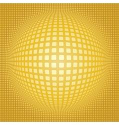 Sphere digital background vector image vector image
