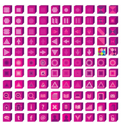 web icons set infographics media and vector image vector image