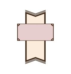 blank emblem image icon vector image
