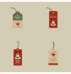 Cartoon Christmas Objects vector image