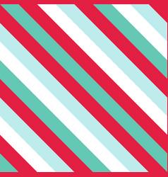 Christmas diagonal striped seamless pattern vector