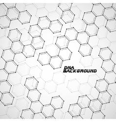 Molecule DNA Abstract background vector