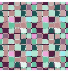 Seamless geometric mosaic pattern Rectangles vector