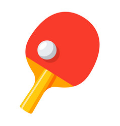 table tennis icon vector image vector image