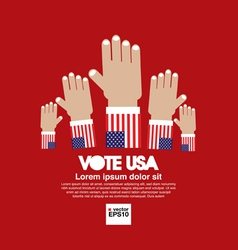Vote for election concept vector image