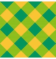 Yellow Green Diamond Chessboard Background vector