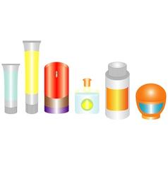 Cosmetics mans vector image