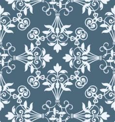 floral heraldry pattern vector image