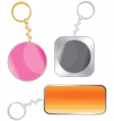 key chain vector image vector image