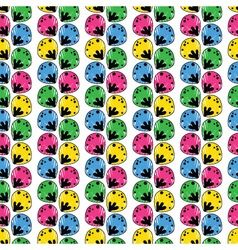 seamless abstract pattern with a multitude of elem vector image vector image