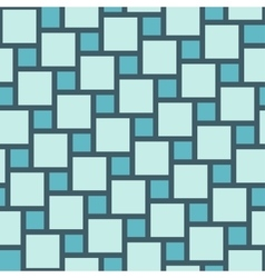 blue tiles seamless pattern vector image vector image