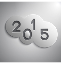 abstract circles for the New Year 2015 vector image