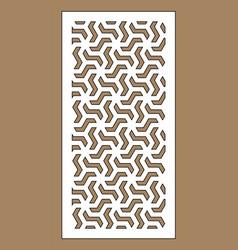 arabesque panel vector image