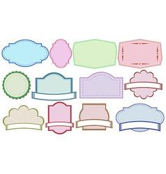 Color labels vector