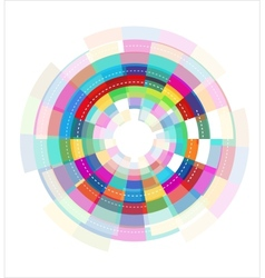 colorful abstract template vector image