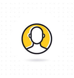 customer icon vector image