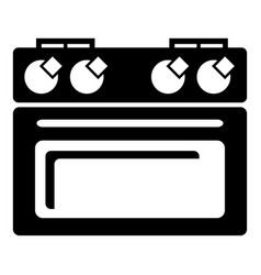 house oven icon simple style vector image