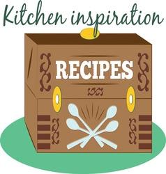 Kitchen Inspiration vector image