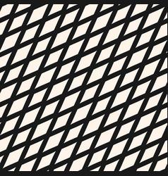 Slanted rhombuses seamless geometric pattern vector