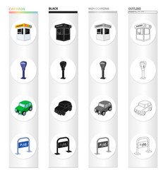 tools equipment rules and other web icon in vector image