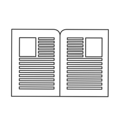 paper documents icon vector image