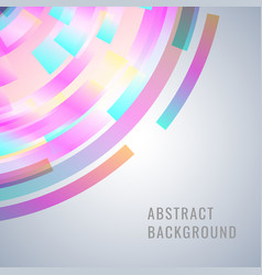 abstract design with dinamic shapes vector image