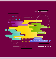 abstract is modern vector image