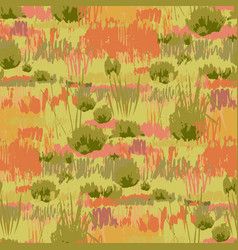 Abstract repeated patten steppe landscape vector