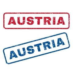 Austria Rubber Stamps vector