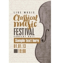 Concert classical music vector