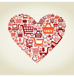 Heart sale2 vector