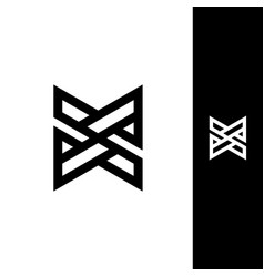 Letter x design template vector
