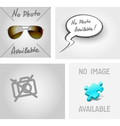no image photo available vector image