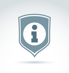 Personal data protection icon conceptual call vector