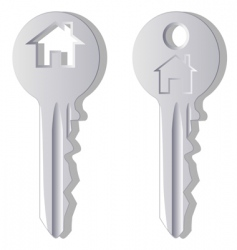 household key vector image vector image
