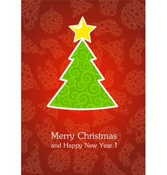 Christmas and New Year 5 vector image vector image