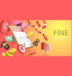 3d conceptual fine document vector