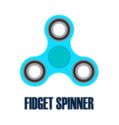 hand spinner fidget spinner vector image vector image