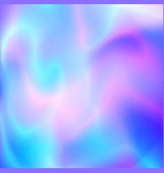 holografic foil background image vector image