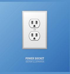Power socket vector