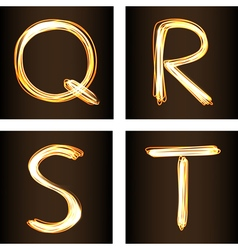 Q R S T vector