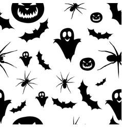 Seamless pattern halloween vector
