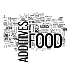 What s that in my food text word cloud concept vector