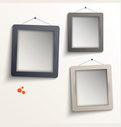 White frames vector