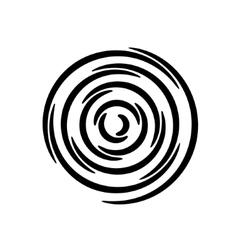 Set of spirals Design element vector image vector image