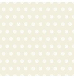 Vintage polka dots set of four seamless patterns vector image vector image